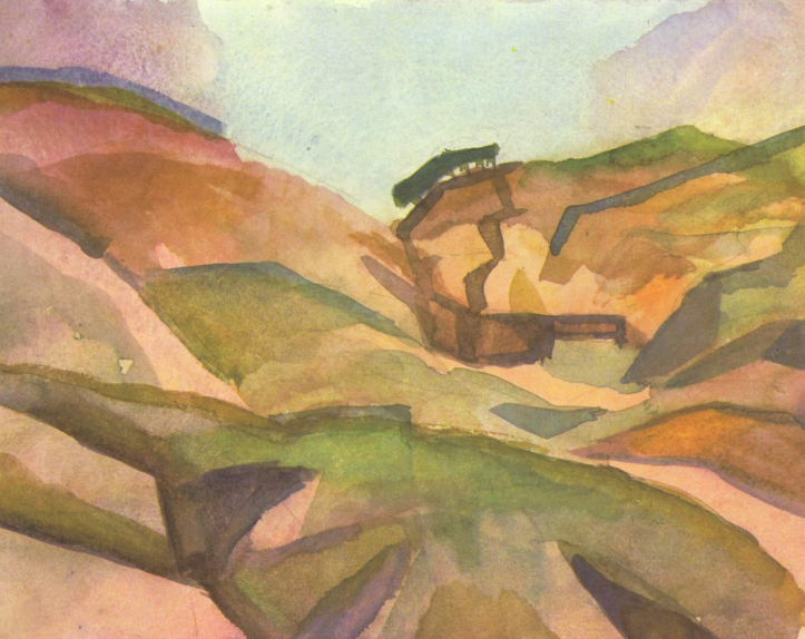 August Macke: Garganta